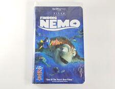 Walt Disney's Pixar Finding Nemo Vhs, Factory Sealed, New