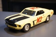 FORD MUSTANG BOSS 302 1969 Trans-Am Mac Racing 1:24 Diecast Metal Model Toy Car
