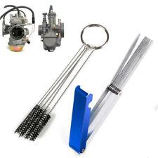 Car Motorcycle Carburetor 18 Cleaning Needles 5 Brushes Dirt Jet Remove Tool Kit