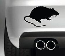 Rat Silhouette Car Bumper Sticker Funny Drift JDM 4x4 Wall Art Vinyl