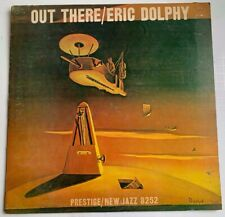 """Eric Dolphy LP """"Out There"""" New Jazz 8252 Purple Label RVG Mono CLEAN"""