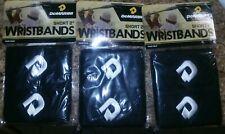 "3 Packs of Black DeMarini WTA6635 2"" Wrist Band - 2 Pack"