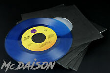 "McDAISON - 100 BUSTE copertine in CARTA NERA + VELINA x dischi vinile 7"" 45 giri"
