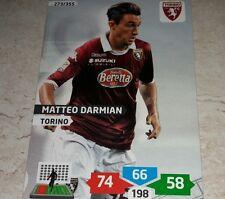 CARD ADRENALYN 2013/14 CALCIATORI PANINI TORINO DARMIAN CALCIO FOOTBALL