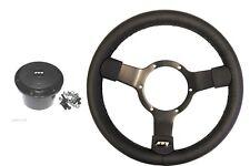 Traditional vinyl steering wheel & boss adaptor kit for VW T4 year 1996 onwards