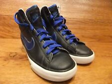 Nike SWEET CLASSIC HI TOP CASUAL NERI IN PELLE MISURA UK 5 EUR 38