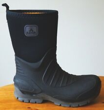 Kamik Men's Shelter Snow Boot Black Size US 9 M 7mm Neoprene USA Waterproof