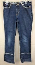 Guess Jeans Women's Distressed Fringed Jean Size 30
