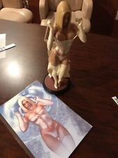 Emma Frost White Queen Comiquette Sideshow Collectibles Statue Exclusive Print