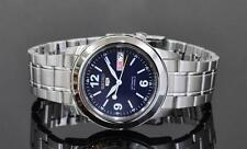 Seiko 5 Automatic Mens Watch Blue Dial Skeleton Back SNKE61K1 UK Seller