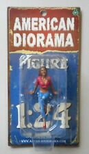 """WENDY HANGING OUT AMERICAN DIORAMA 1:24 Scale FEMALE GIRL  3"""" Figure"""