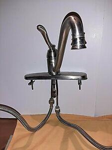 Moen Kitchen Faucet Single Handle.Brushed nickel.