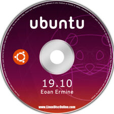 Ubuntu 19.10 Eoan Ermine 64-bit Linux Live Install DVD For PC Mac Beats Windows