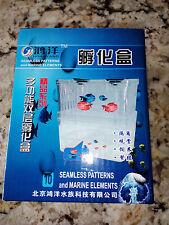 Paridera doble para peces guppy betta viviparos cria acuario