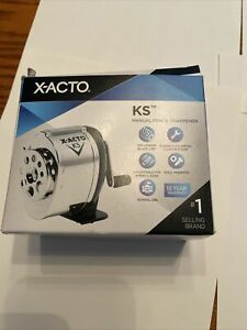 X-acto KS manual pencil sharpener adjustable for 8 pencil sizes