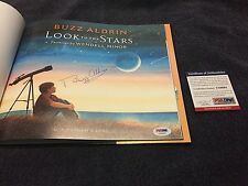 Buzz Aldrin Signed Look to the Stars Book PSA/DNA 2nd man on moon