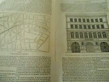 Premier Chemin de Fer de Paris 1836 Gravure Print Article