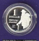 1995 Australia $1 Waltzing Matilda Silver Proof Coin - Coin Fair Issue