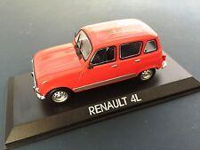 RENAULT 4L VOITURE 1/43 IXO IST - LEGENDARY CAR AUTO - B56