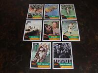 2010 Topps Heritage Baseball---News Flashbacks--Lot Of 8---Multi-Lots---See List