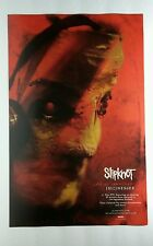 SLIPKNOT SICNESSES LIVE AT DOWNLOAD DOUBLE SIDED PHOTO PROMO 11x17 MUSIC POSTER