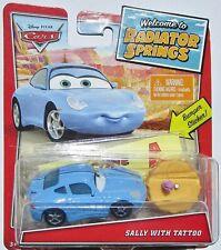 ++ Disney Pixar Cars - Sally With Tattoo
