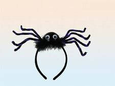 Haarreifen Spinne schwarz lila Halloween Haarreif gruselig Spinnen NEU