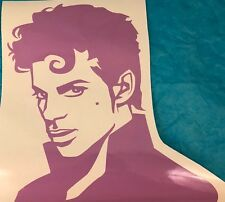 Prince Singer Icon Large Purple Vinyl Wall Decal Home Business DecorNew