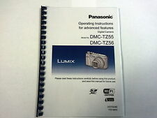 PANASONIC LUMIX DMC-TZ55 PRINTED INSTRUCTION MANUAL USER GUIDE 187 PAGES A4