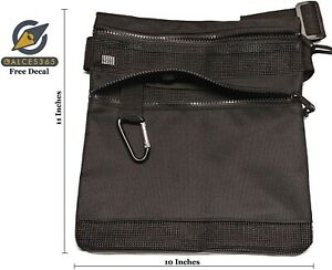 Calces365 Metal Detecting Finds Bag Pouch Water Proof Mesh Waist Pouch