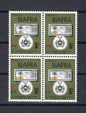 1968 Biafra Sc# 20 Banknote Nigeria block 4 MNH