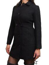 Abrigos y chaquetas de mujer Parka color principal negro de poliéster