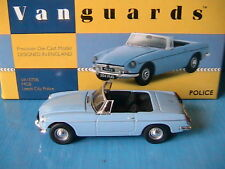 MGB ROADSTER LEEDS CITY POLICE VA10706 VANGUARDS 1/43