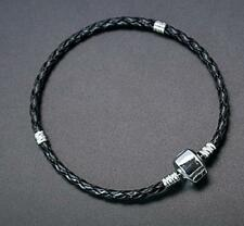 2pc black Imitation Leather European Style Bracelet-8364