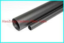 29MM OD x 27MM ID Carbon Fiber Tube 3k 500MM Long(Roll Wrapped)carbon pipe 29*27