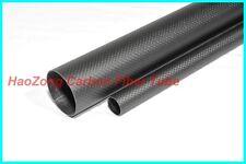 19 MM OD x 17 MM ID Carbon Fiber Tube 3k 500MM Long Matt finish 100% Carbon DIY