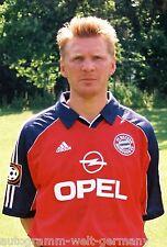Stefan Effenberg Bayern München 1999-00 seltenes Foto