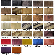 "Choose 18-36"" Remy Weft Virgin Straight Products 4A Human Hair Extensions Bundle"