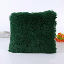 NEW Soft Plush Square Pillow Case Sofa Waist Throw Cushion Cover Home Decoration