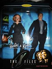 X Files Short Hair Barbie Doll Giftset NRFB MIB