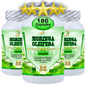 180 Moringa Oleifera Organic Leaf Extract 10,000mg Serving 100% Pure Capsules