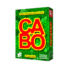 CABO - KARTENSPIEL - SMILING MONSTER GAMES - NEU