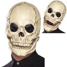 Smiffys Maschera da Scheletro Bianco Schiuma di Lattice Copricapo (g4s)