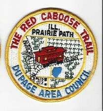 BOY SCOUT  THE RED CABOOSE TRAIL PP      ILL