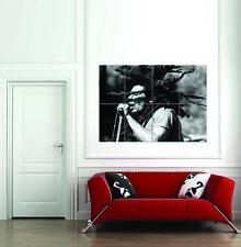 Poster Impression Photo Concert De Musique Reggae Star Legend Bob Marley Dreads