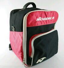 Vtg Nordica Ski Boots Bag Bagpack Red Black Large