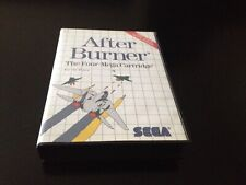 AFTER BURNER // SEGA MASTER SYSTEM 2 // PAL // COMPLET