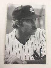 Catfish Hunter (1983) New York Yankees Vintage Baseball Postcard NYY