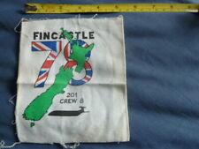 More details for fincastle 78, 201, crew 8, royal air force, nimrod , cloth patch