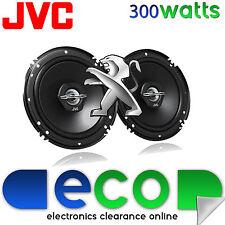 PEUGEOT 407 2004-2014 JVC 16 CM 6,5 POLLICI 300 WATT 2 VIE PORTA ANTERIORE Altoparlanti Auto